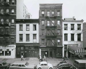 Cafe Bizarre, Washington Square, Greenwich Village, 1968; New York University Archives