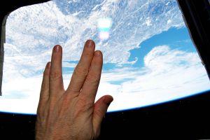 """Astronaut Salutes Nimoy From Orbit"" by NASA Astronaut Terry W. Virts - nasa.gov."