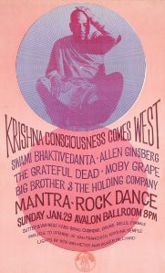 """1967 Mantra-Rock Dance Avalon poster"" by Harvey W. Cohen - www.harveywallacecohen.com."