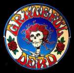Grateful Dead 'skull & roses' Logo. Artwork of Alton Kelley downloaded from http://webpictures.emgpr.com