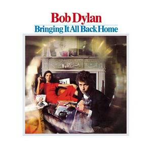 Cover of Bob Dylan's Bringing It All Back Home (Columbia Records, 1965)