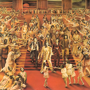 Album cover for the Rolling Stones It's Only Rock and Roll, 1974.