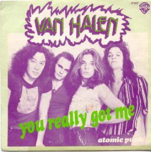 Single record cover, Van Halen, You Really Got Me