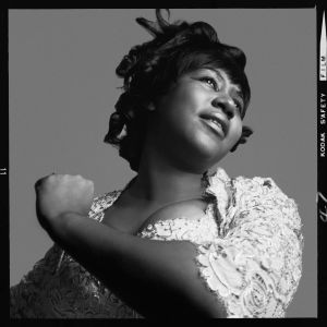 Photo of Aretha Franklin by Richard Avedon.