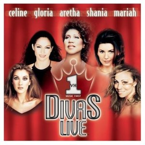 """Cover of the album for the 1998 VH1 program """"Divas Live 1998."""""""