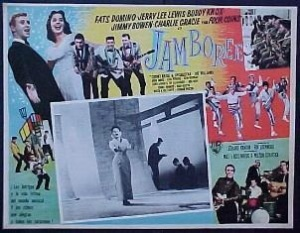 Mexican poster for the 1957 Warner Brothers rock 'n roll movie Jamboree.