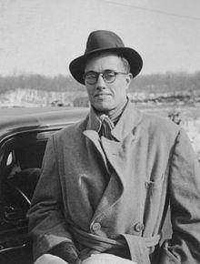 Musicologist John Lomax