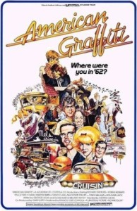 Poster for the 1973 George Lucas film American Graffiti.