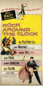 Poster for the 1956 movie Rock Around The Clock.