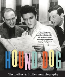 Cover of Leiber (R) and Stoller's autobiography, Hound Dog.