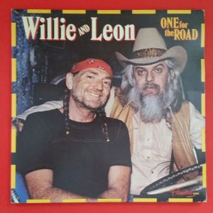 Cover of the Willie & Leon album One For the Road.
