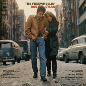Cover of the 1963 album, The Freewheelin' Bob Dylan.