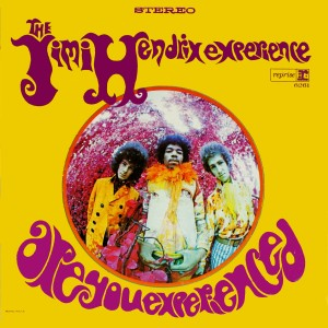 Cover of the 1967 album Are You Experienced, from the Jimi Hendrix Experience.