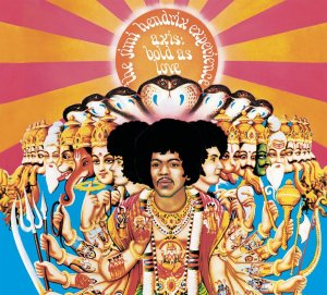 Cover of the 1968 album Axis Bold As Love, from the Jimi Hendrix Experience.