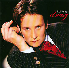 Cover of k.d. lang's 1997 album, Drag.