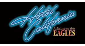 Hotel California logo that appeared on the Eagles album.