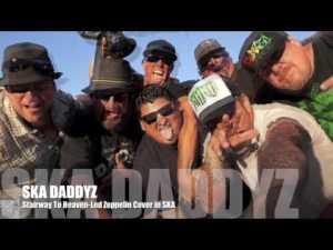 The West Coast ska punk group SkaDaddyZ.