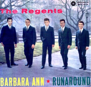 Cover of an EP of music by The Regents, issued in Sweden.