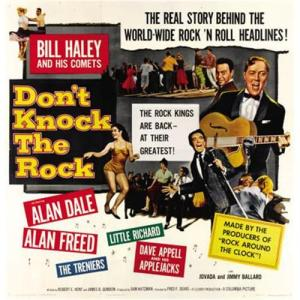 Poster for the 1956 Columbia Pictures movie Don't Knock The Rock.