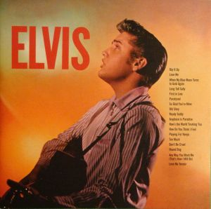 Cover of the 1956 RCA Victor album Elvis.